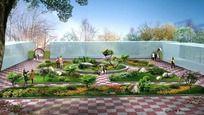 庭院景观绿化方案 PSD