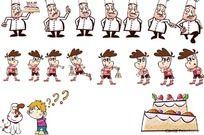 厨师 小男孩 AI