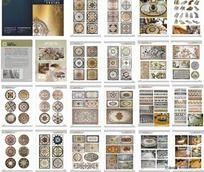 石材工艺 拼花设计画册