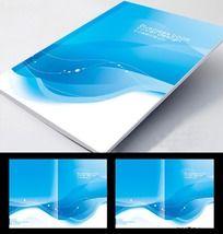 简洁清爽 企业画册封面设计