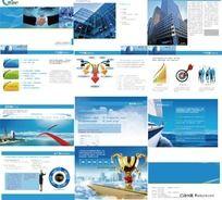 企业宣传画册素材