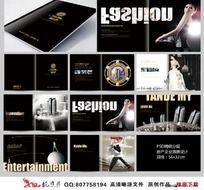 黑色经典时尚 房产楼盘宣传画册设计
