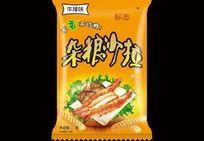 牛肉杂粮沙拉包装设计