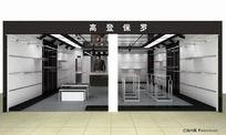 服装店模型
