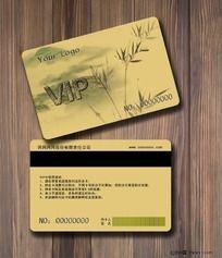 高档典雅中国风VIP会员卡设计