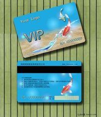 尊贵特色喜庆VIP会员卡设计