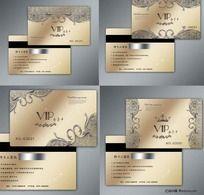 12款 高档欧式花纹vip贵宾卡PSD下载