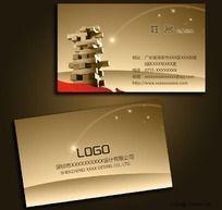 木业家具公司名片设计