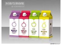 果醋饮料包装设计