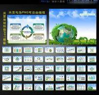 关爱地球爱护环境环保PPT