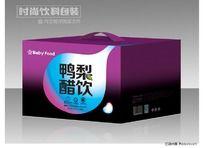 鸭梨醋饮礼盒设计