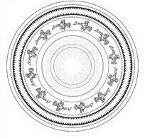 广西铜鼓纹饰图 CDR