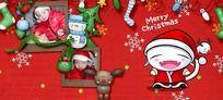 儿童相册模板 圣诞节