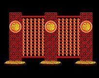 春节造型设计 传统花纹造型