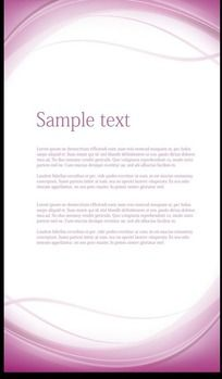 紫色简洁展板背景