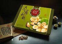 风雅秋韻 绿色食品包装设计 月饼包装