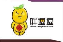 胖逗逗网站标志设计