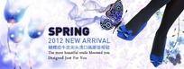 SPRING春季女鞋广告图