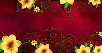 8款 古典花纹生长视频mov素材下载