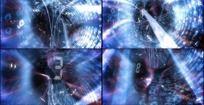 动态光线数码隧道高清视频