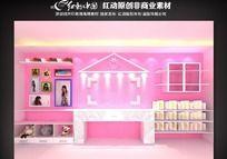 MM卧室max模型背景墙源文件