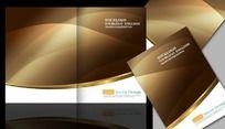 金色尊贵画册封面设计