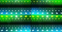 蓝色灯光多彩舞台动态视觉效果视频