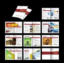 企业宣传画册(送PSD文件)eps
