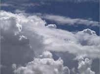 高清蓝天白云视频背景素材