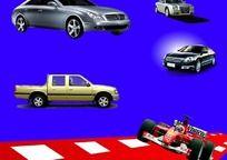 赛车汽车flash源文件