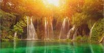 壮观瀑布flash源文件