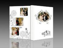婚纱影集封面图片素材 PSD