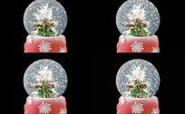 AE圣诞球礼物动态源文件
