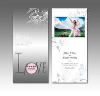 11款 婚礼喜帖设计PSD下载