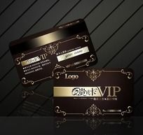 精美花纹VIP卡设计源文件