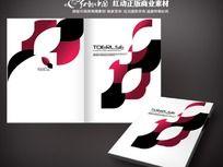抽象艺术画册封面