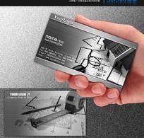 建筑设计工程施工装潢房地产名片