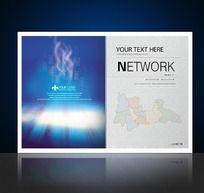 企业宣传画册板式设计