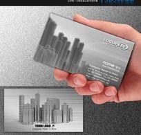 建筑设计工程施工装潢房地产名片设计师名片