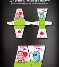 卡通糖果包装盒设计