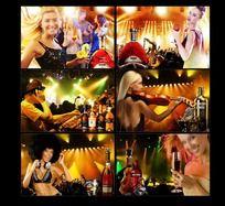 音乐KTV宣传海报设计