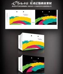 彩色印刷厂宣传手提袋设计