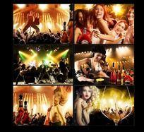 俱乐部 酒吧 KTV 迪吧激情海报设计素材