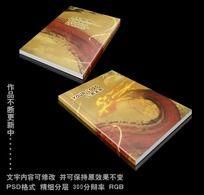 中国龙画册封面设计