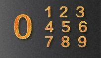 细帆数字打折艺术字