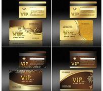 金色尊贵金属欧式花纹VIP会员卡