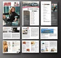 杂志设计 杂志版式 AI
