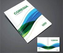 炫丽科技画册封面设计PSD