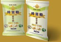 纯豆粕有机肥塑料包装袋设计