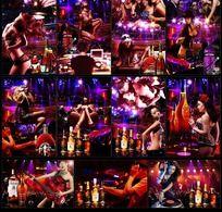 激情夜场酒吧海报ps分层素材